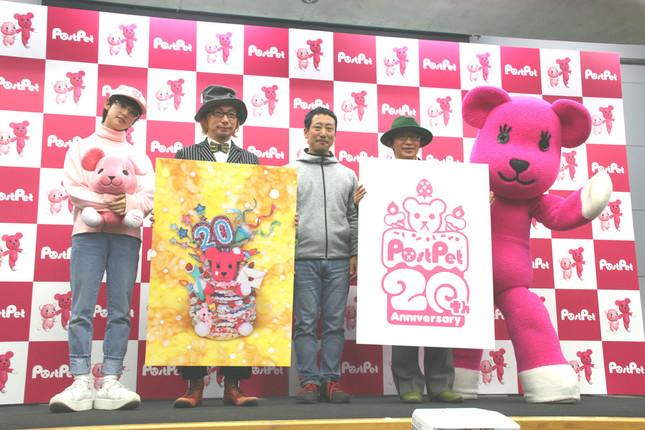 中央は「PostPet」プロデューサーの菊池氏