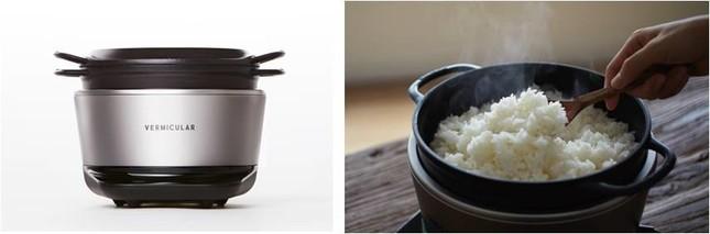 「世界一、おいしいお米が炊ける炊飯器」「バーミキュラ ライスポット」