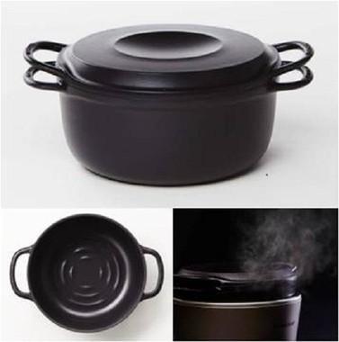 従来のバーミキュラの鋳物ホーロー鍋を「炊飯」のために限界まで進化