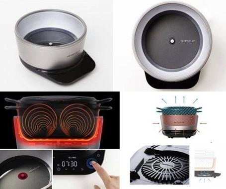 鍋の性能を最大限引き出す理想的な熱源「ポットヒーター」を新開発