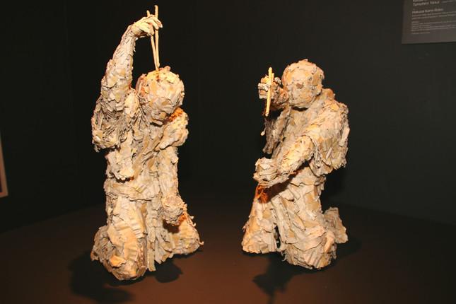 青木克憲さんと安居智博さんの作品「Hokusai Kami-Robo」