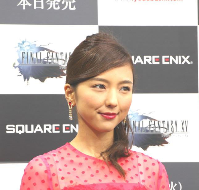 女優の真野恵里菜さん(写真は2016年11月29日撮影)