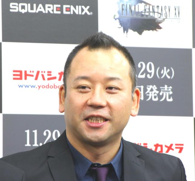 「バイきんぐ」の西村瑞樹さん(写真は2016年11月29日撮影)