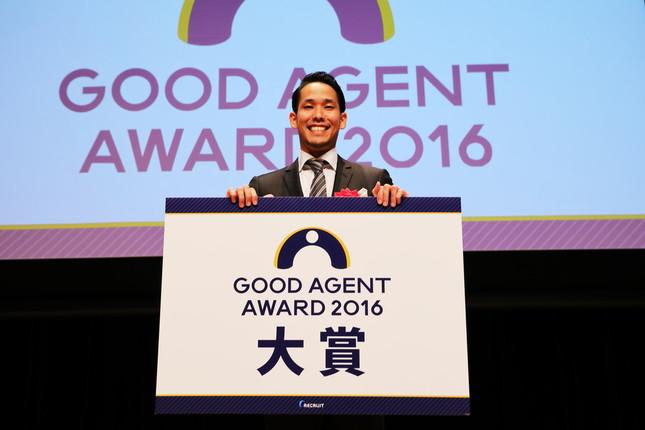 大賞に輝いた「Youth Planet」の堀田誠人さん
