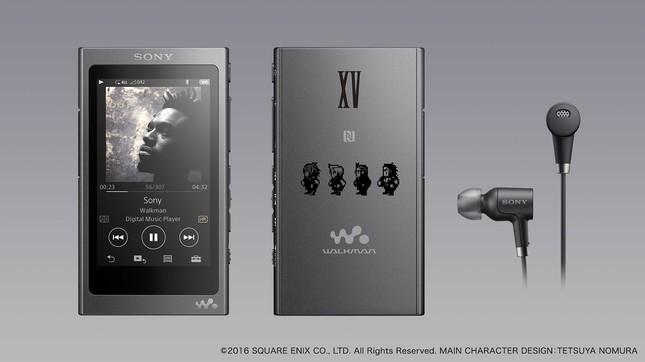 「FF XV」バージョンのウォークマンAシリーズ