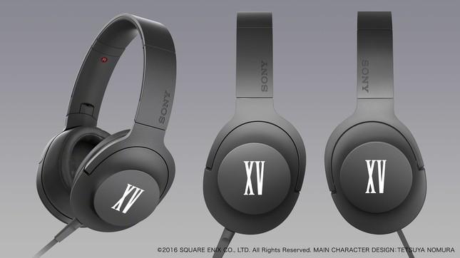 「FF XV」バージョンののヘッドホンh.ear on「MDR-100A/FF」