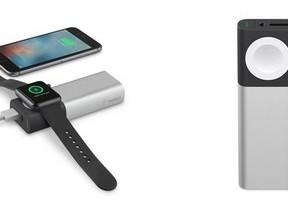 iPhoneとApple Watchを同時充電できるモバイルバッテリー 純正と同じ技術を装備