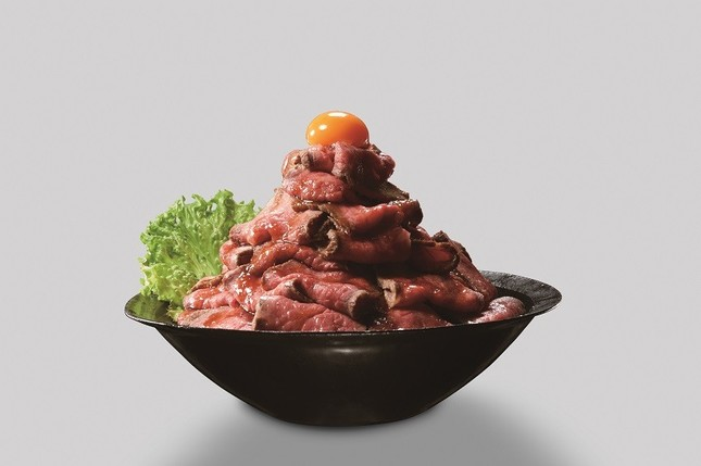 特別賞の「ローストビーフ丼」