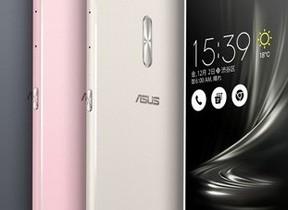 6.8型ディスプレイSIMフリースマホ ASUS「ZenFone 3 Ultra」