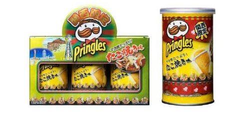 プリングルズ「たこ焼き味」