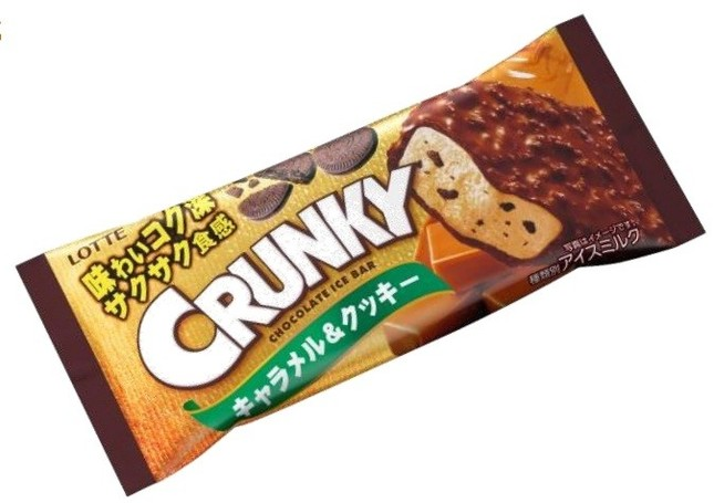 クランキーアイスバーキャラメル&クッキー