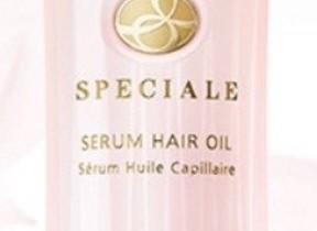 シルクのように...髪用美容液「ノエビア スペチアーレ セラムヘアオイル」