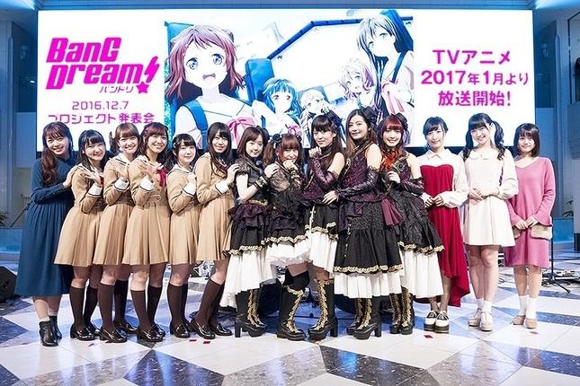 「BanG Dream!」は、2017年1月21日放送開始