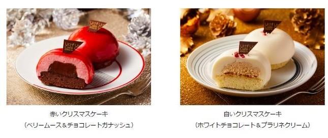 フランス産チョコレートを使用した上質なクリスマスケーキ