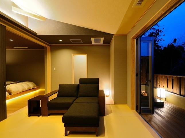 温泉露天風呂付き客室イメージ
