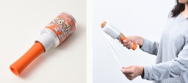 不用品をまとめたり梱包物を保護できる