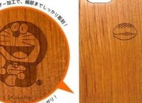 ドラえもん、パーマン...「木製iPhone 7ケース 藤子・F・不二雄キャラクター」