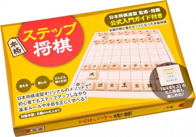 木製の将棋盤と駒、日本将棋連盟による入門ガイドが付いた将棋セット