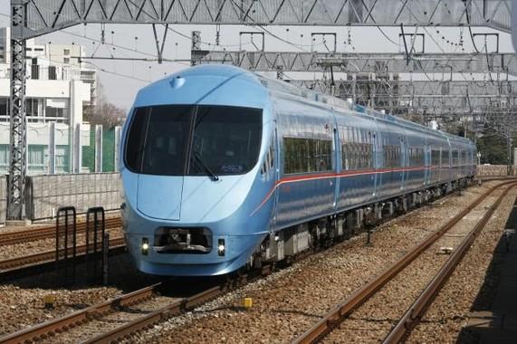 小田急電鉄のロマンスカー・MSE(60000形)