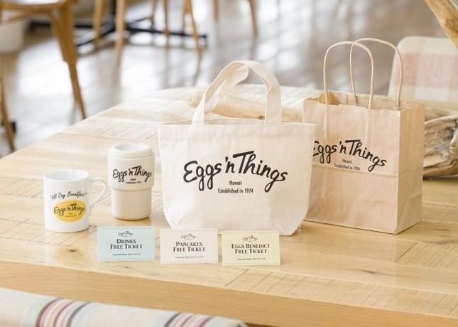 「Eggs 'n Things」初の福袋