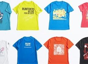 東京マラソン2017 オリジナルTシャツ新発売、アシックス