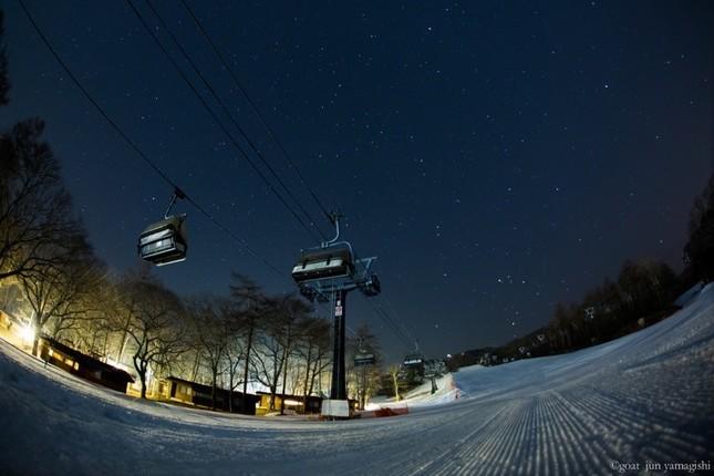 冬の軽井沢は白銀の世界