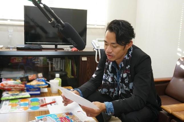 岡山県政アニメ「「みんなのおかやま犬(けん)」に声で出演した高橋大輔さん