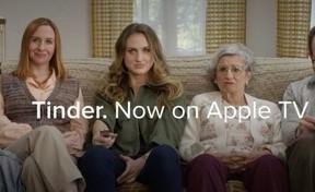 マッチングアプリ「Tinder」をテレビでも 「Tinder on Apple TV」スタート