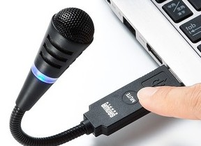 簡単にミュートできる「USBマイクロホン」 オン・オフの状態もLEDの色で丸分かり