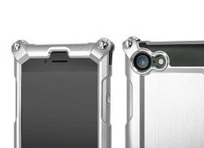 iPhone 7/7 Plusケース、ジュラルミン無垢材から削り出しオーダーメイド