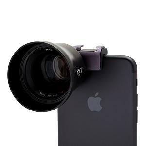 iPhoneのカメラに簡単装着、プラスアルファの高性能