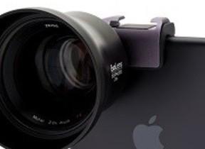 iPhoneに「ZEISS」レンズ装着キット
