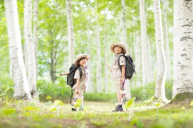 トマムの森を中心に動物が見られそうなところを探検
