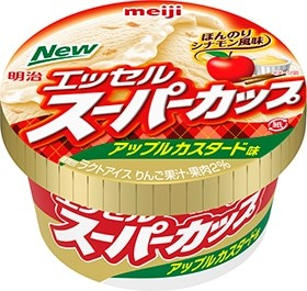 シナモン風味が香るリンゴ果肉がアクセントに