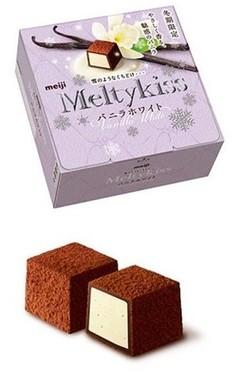 雪のようなくちどけとバニラがやさしく香るホワイトチョコレート