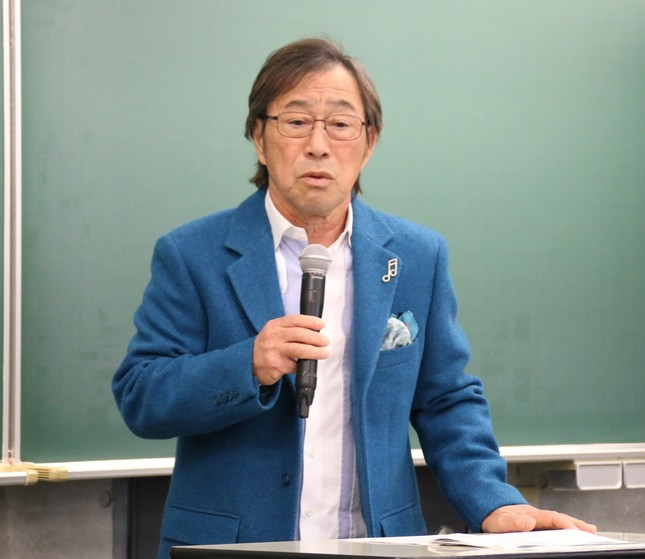 武田鉄矢さん(2017年1月10日撮影)