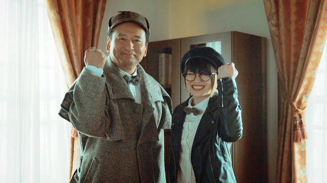 山口祥義知事とカノエラナさん