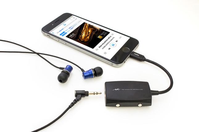 高感度のダイナミックドライバーユニットがハイレゾ音源を豊かに再生