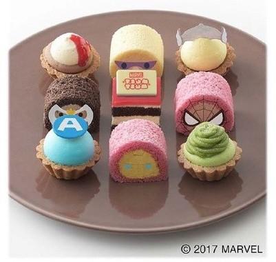マーベルキャラクターのプチケーキ