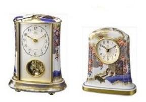 「御所車」を大胆にデザインした置時計2モデル!