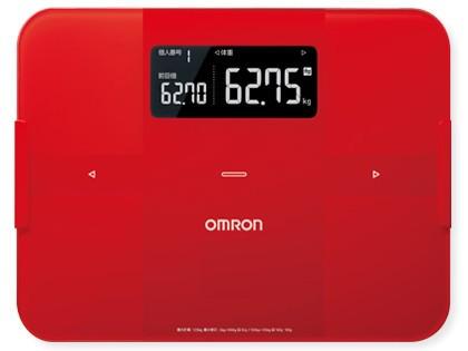 欧姆龙推出了可与智能手机连接的身体扫描体重计