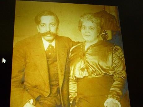 グラナドスとアンパロ・ガル夫人