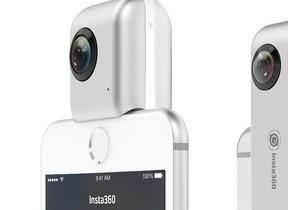 iPhoneと接続して360度全天球写真や動画を撮影「Insta360 Nano」