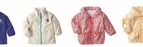 子ども用の花粉対策ジャケット