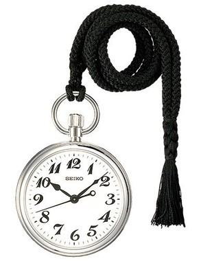 実際に運転士が使用している鉄道時計をベースに
