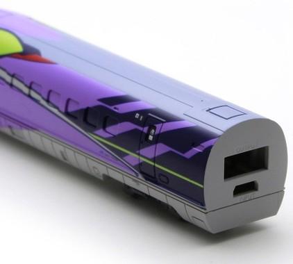 シャープなデザインをモバイルバッテリー化