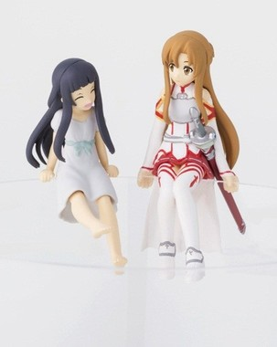 ユイ(左)とアスナ