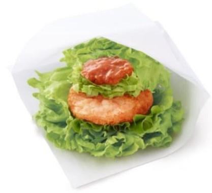 「モスの菜摘リッチ海老カツ蟹チリソース」