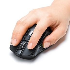 愛用のパソコンで健康管理! 【業界初】心拍センサー搭載のスマートマウス