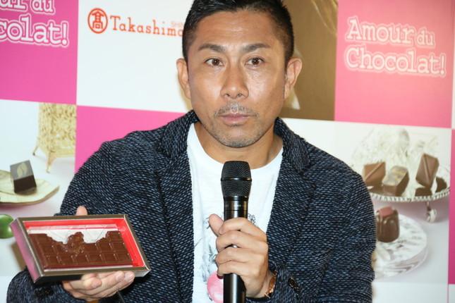 元サッカー日本代表の前園真聖氏(2017年1月26日撮影)